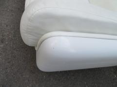 Steelcase Co Fabulous Steelcase Fiberglass Leather Space Age Modern Sofa William Andrus - 1454197