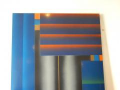 Stefan Knapp Monumental Modernist Enamel on Metal Painting by Stefan Knapp - 598158