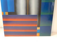 Stefan Knapp Monumental Modernist Enamel on Metal Painting by Stefan Knapp - 598160