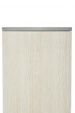 Stefan Rurak Studio Minimal 4 Door Janice Armoire Concrete White Oak and Mint Green Interior - 1093207