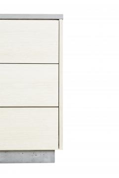 Stefan Rurak Studio Minimal 6 Drawer Janice Dresser Concrete White Oak and Mint Green Interior - 1091509