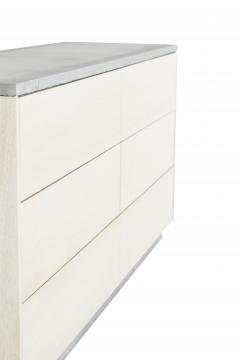 Stefan Rurak Studio Minimal 6 Drawer Janice Dresser Concrete White Oak and Mint Green Interior - 1091510