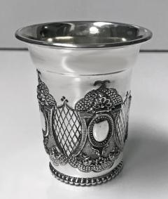 Sterling Silver Kiddush Cup Becher 20th century - 1447711