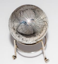 Sterling Silver World Globe Compass - 323436