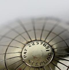 Sterling Silver World Globe Compass - 323438