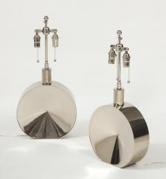 Steve Chase Pair of Chrome Lamps by Steve Chase - 1964574