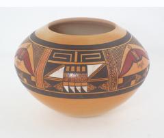 Steve Lucas Hopi polychrome jar by Steve Lucas - 1319185