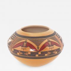 Steve Lucas Hopi polychrome jar by Steve Lucas - 1320834