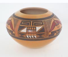 Steve Lucas Hopi polychrome seed jar by Steve Lucas - 1679501