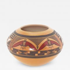 Steve Lucas Hopi polychrome seed jar by Steve Lucas - 1679781