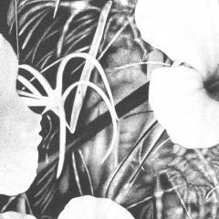 Steven Bitteroff American 20th century Flowers 5 Acrylic on canvas - 1903828
