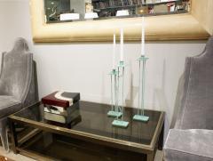 Steven Holl Steven Holl Rare Set of Bronze Candlesticks 1986 signed  - 944018