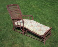 Stick Wicker Chaise Lounge - 296046