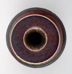 Stig Lindberg Art pottery vase Aniara glaze - 1347015