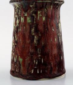 Stig Lindberg Art pottery vase Aniara glaze - 1347016