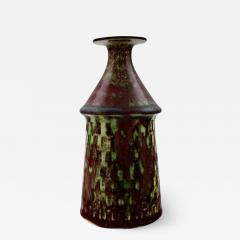 Stig Lindberg Art pottery vase Aniara glaze - 1349372