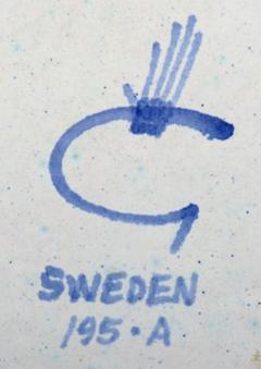 Stig Lindberg Dish Faience - 1346892