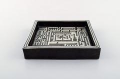 Stig Lindberg Domino dish in ceramics - 1346870