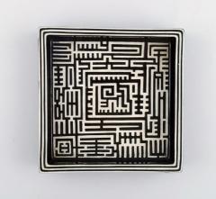 Stig Lindberg Domino dish in ceramics - 1346874