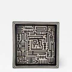 Stig Lindberg Domino dish in ceramics - 1349359
