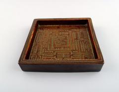 Stig Lindberg Domino dish in ceramics - 1347062