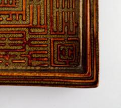 Stig Lindberg Domino dish in ceramics - 1347065