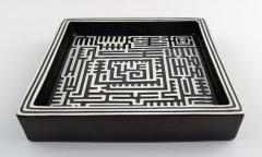 Stig Lindberg Domino dish in ceramics - 1348694