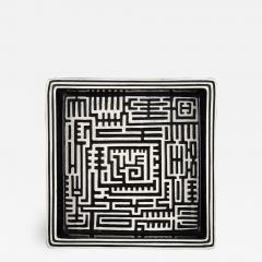 Stig Lindberg Domino dish in ceramics - 1349931