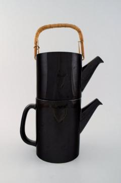 Stig Lindberg Rare 2 piece teapot LA Colorado design Stig Lindberg Gustavsberg Stamped - 1221473