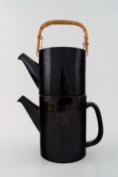 Stig Lindberg Rare 2 piece teapot LA Colorado design Stig Lindberg Gustavsberg Stamped - 1221511