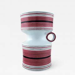 Stig Lindberg Stig Lindberg Gustavsberg Faience jug vase with hand painted decoration - 1222691