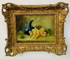 Still Life Oil on Canvas Painting Framed - 1647029