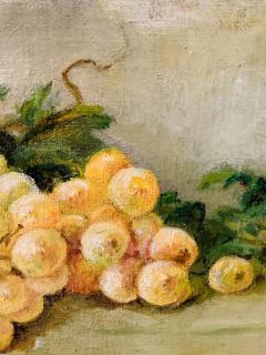 Still Life Oil on Canvas Painting Framed - 1647030