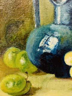 Still Life Oil on Canvas Painting Framed - 1647032