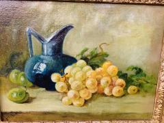 Still Life Oil on Canvas Painting Framed - 1647033