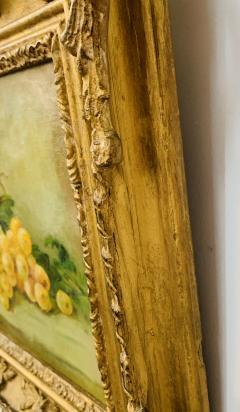 Still Life Oil on Canvas Painting Framed - 1647041