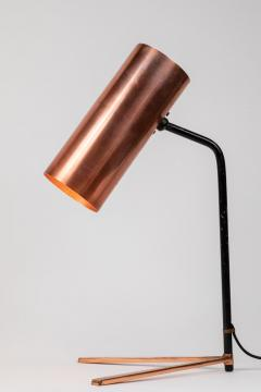 Stilux Milano 1950s Stilux Copper and Metal Table Lamp - 991106