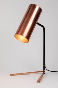 Stilux Milano 1950s Stilux Copper and Metal Table Lamp - 991107