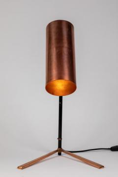 Stilux Milano 1950s Stilux Copper and Metal Table Lamp - 991110