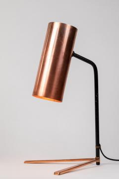 Stilux Milano 1950s Stilux Copper and Metal Table Lamp - 991114