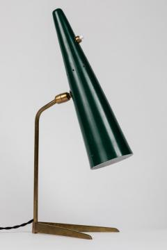 Stilux Milano 1950s Stilux Milano Green Conical Table Lamp - 992605