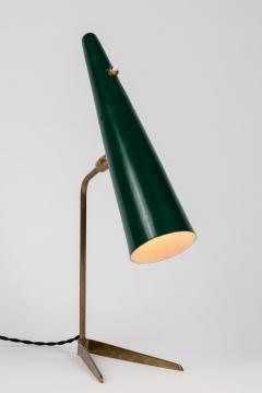 Stilux Milano 1950s Stilux Milano Green Conical Table Lamp - 992607