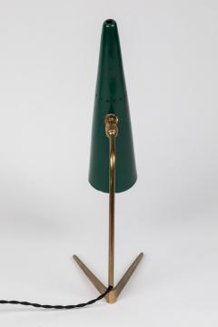 Stilux Milano 1950s Stilux Milano Green Conical Table Lamp - 992611