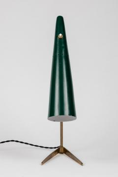 Stilux Milano 1950s Stilux Milano Green Conical Table Lamp - 992613