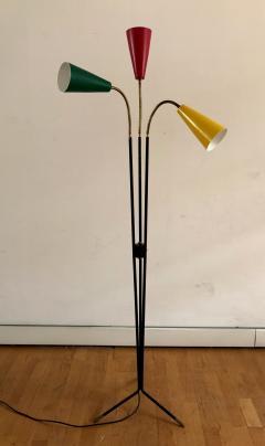 Stilux Milano 1950s Three Cones Floor Lamp - 409273