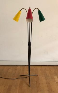Stilux Milano 1950s Three Cones Floor Lamp - 409274