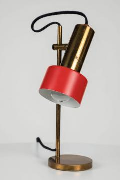 Stilux Milano 1960s Stilux Milano Adjustable Brass Table Lamp - 616625