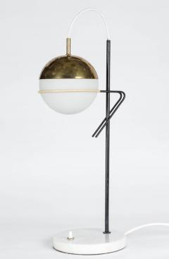 Stilux Milano 1960s Stilux Milano Glass and Marble Table Lamp - 602034