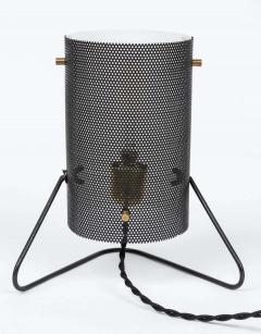 Stilux Milano 1960s Stilux Milano Perforated Metal Table Lamp - 1443109