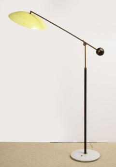Stilux Milano Floor lamp with yellow shade and marble base - 1131037